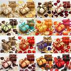 Luxury Two Tone Wedding Favour Boxes & Lids DIY Baby Shower Party Autum Colours
