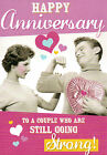 funny open / general wedding anniversary card humorous