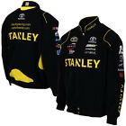 2015 Carl Edwards Stanley Tools Black Twill Authentic Mens Nascar Jacket-JH