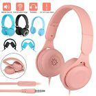 Wireless Bluetooth 5.0 Over Ear Headphones Stereo Headsets w/Mic For Kids Girls