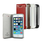 Pierre Cardin Flip Faux Leather Case Cover for Apple iPhone 5 5s case