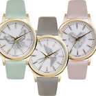 Ladies Fashion Summer Watch Stainless Steel Plated Case Soft PU Strap