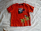 NWT GYMBOREE JUNGLE EXPLORER RAINFOREST TOURS HELICOPTER ORANGE TOP SHIRT