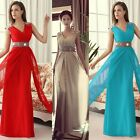 GK SUMMER+RED Chiffon Beaded Cocktail Homecoming Prom Gown Banquet Wedding Dress