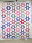 Vintage Antique Handmade Quilt Star 1930's Depression Era Quilt