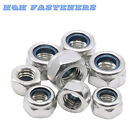 A2 Grade Stainless Steel Nyloc/Nylon Insert Locking Nuts M2 2.5 3 4 5 6 8 10 12 on Rummage