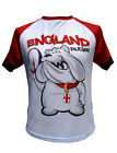 Olorun England Bulldog Supporters  Rugby T-Shirt Size S-4XL