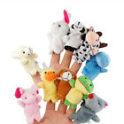 Hot New Animal Finger Puppets Plush Cloth Doll Baby Educational Hand Kids Toy
