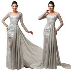 HOT SEXY LONG EVENING PARTY BALL GOWNS FORMAL WEDDING BRIDESMAID COCKTAIL DRESS