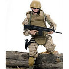 "12"" 1/6 Military Army Combat Desert ACU Soldier Action Figure Model Toy"