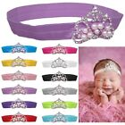 Stylish Baby Kids Girl Princess Pearl Crown Headband Hair Band Photography Props
