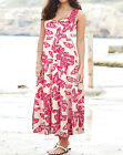 Anthology at Marisota BUTTERFLY Print Tiered Stretch Cotton Dress Sizes 10 to 30
