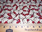 HELLO KITTY  #6 Fabrics,  Sold Individually,  Not As a Group,  By The Half Yard