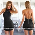 Sexy Women Club Casual Lace Sleeveless Party Evening Cocktail Short Mini Dress