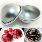 Hot Hemisphere Half Round Cake Pan Mold Chocolate Pudding Bake Tray Mould #F