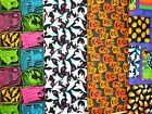 Clearance HALLOWEEN #1 Fabrics,Sold Individually,Not As a Group,By The Half Yard