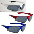Sports Wrap Sunglasses TR90 Frame Shatterproof Lens Cycling Free Black Bag 91504