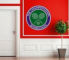 WIMBLEDON BADGE LOGO WALL ART PICTURE STICKER 2015 THE CHAMPIONSHIPS GRAND SLAM