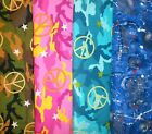 Clearance PEACE  Fabrics,Sold Individually,Not As a Group,By The Half Yard