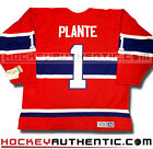 JACQUES PLANTE MONTREAL CANADIENS 1959 JERSEY CCM VINTAGE RED