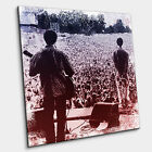 Oasis playing live at Slane Castle - modern canvas print art Liam Noel Gallagher