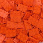 LEGO 3021 2X3 Orange Plates New Authentic LEGO FREE Shipping