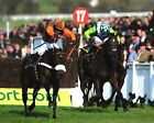 LONG RUN RIDDEN BY SAM WALEY COHEN CHELTENHAM GOLD (HORSE RACING) PHOTO PRINT 01