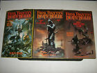 Frank Frazetta's Death Dealer by James Silke Book Set /3 - Horned Helmet -1-2-3