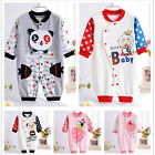 Newborn Baby Clothes Animal Printing Romper Jumpsuit Outwear  0 to 1 year