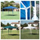 10'x10' Canopy Party Wedding Tent Heavy Duty Gazebo Pavilion Cater Outdoor Event