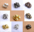10 Sets silver/Gold plated round magnetic clasps findings for jewellery making