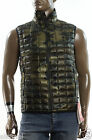 NEW THE NORTH FACE THERMOBALL GREEN CAMO INSULATED LIGHTWEIGHT VEST JACKET