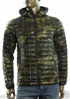 NEW THE NORTH FACE THERMOBALL GREEN CAMO INSULATED LIGHTWEIGHT HOODIE JACKET