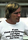 JAMES HUNT 34 (FORMULA 1) PHOTO PRINT