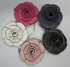 New Rose Flower Purse, Clutch or Handbag With Detachable Strap, Fully Lined