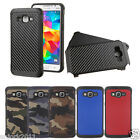 For Samsung Galaxy Grand Prime G530 Hybrid Shockproof Dual Layer Case Cover