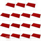 (1) Red Compartment Organizer Display Inserts For Jewelry Cases and Trays