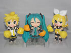 Vocaloid Cheer-leading Miku Japanese Anime Figure Sets 10cm CHN Ver.