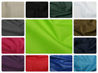 "Soft Water Repellant PU Polyester Fabric - Plain Solid - Material - 59"" (150cm)"