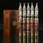 New Hot V2 Vaporizer Pen Vape E Pen 1300mah Smoking Pipe Wood Hookah HC1840
