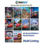Disney Cars 2 2011 HD Photo Poster RD-9002 (A4 11.7x8.2 Inch)