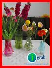 10x Folding Plastic vase flower home decor office rose wedding party supply