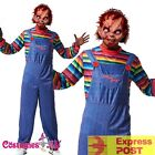 Mens Seed of Chucky Doll Halloween Costume Fancy Dress Up Outfits