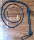 Custom Nylon Bullwhip~ Handmade, Many Colors~ Rodeo, Trick Whips, Etc.