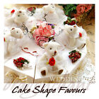 Teddy Bear Wedding Favour cake sweet candy Box Kit kids Birthday Party Gift Set
