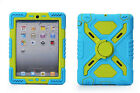 Pepkoo Spider Armor Heavy Duty Stand Silicone Cover Case For iPad2/3/4,Mini1/2/3