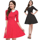 New Vintage Retro ROCKABILLY 1950s dress Swing Evening Party Prom Club Dresses
