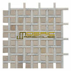 """Marble Mosaic Tile, """"Apartment Collection"""" MM 7102 - Miami, Polished"""