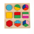 Kid Baby Wooden Develop Block Puzzle Montessori Early Learning Educational Toy