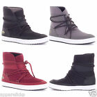 Lacoste Women's Twine Synthetic Leather/Textile Lace Up Boot Ortholite Insole